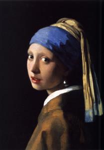 La ragazza con l'orecchino di perla, Johannes Vermeer, 1665