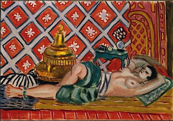 Henri Matisse, Odalisca distesa, 1926