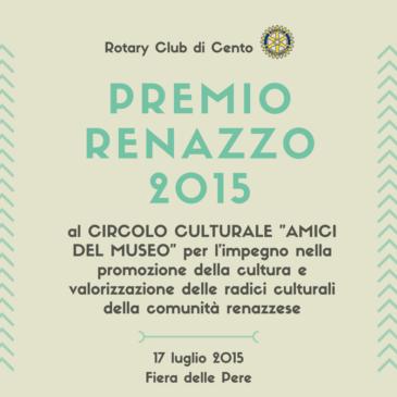 Premio Renazzo 2015