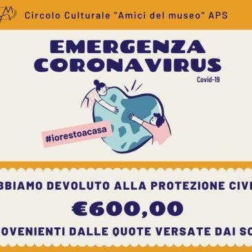 Donazione alla Protezione Civile